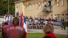 Prostějovský velodrom byl v roce 2021 opět svědkem mnoha závodů
