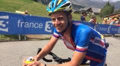Jakub Otruba startoval na Tour de l'Avenir