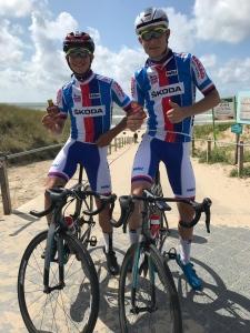 Bárta a Tyrpekl na Mistrovství Evropy v silniční cyklistice