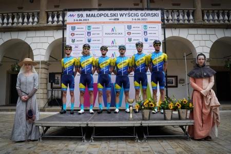 Na Tour of Malopolska nejlépe Pavel Gruber