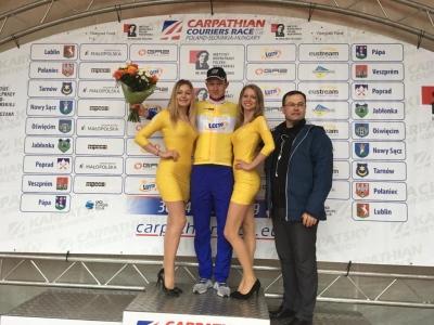 Tomáš Bárta vyhrál sprinterskou soutěž na Carpathian Couriers Race