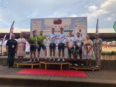 Elitní závodníci uspěli na dráhovém klání vCottbusu