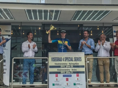 Tomáš Bárta třetí na V4 Special Series (UCI 1.2)