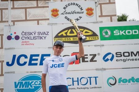 Pavel Novák obsadil druhé místo v mezinárodním etapovém závodě Regionem Orlicka.