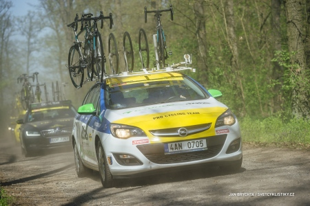 Muži brali body do rankingu UCI při GP ČR a GP POL