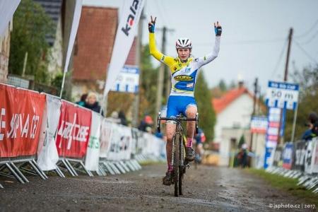 Gabriela Bártová úspěšná také v cyklokrosu