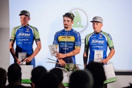 Daniel Babor vyhrál poslední závod Českého pohár