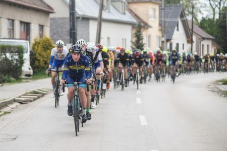 Mikšaník získal body do žebříčku UCI vzávodě Visegradské 4