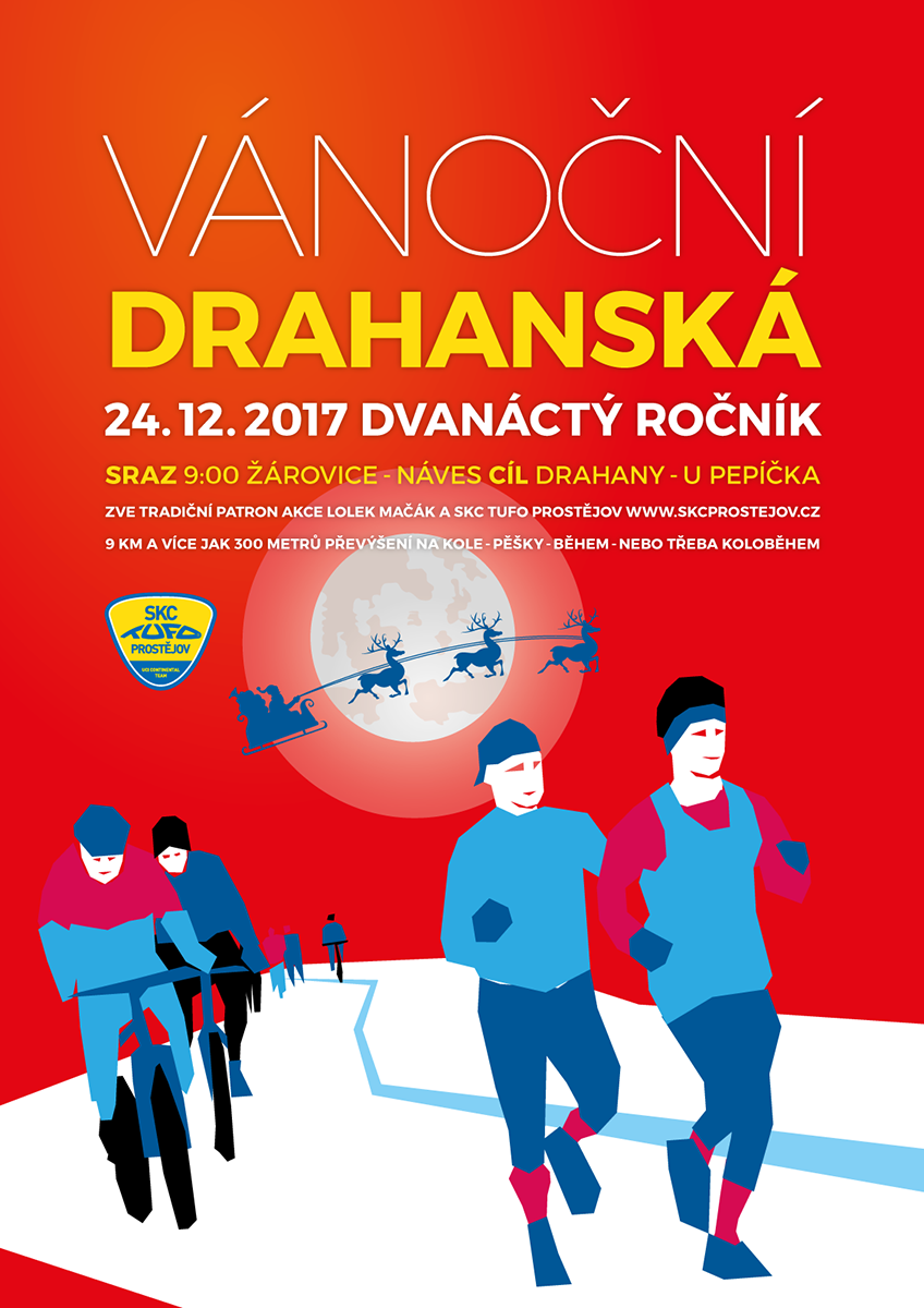 Vánoční Drahanská 2017